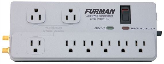 Furman PST26 Power Station Series 8 Outlet Surge Suppressor