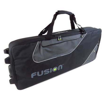 Fusion Keyboard 15 Bag with Wheels 76-88 Keys