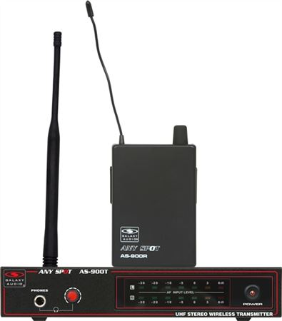 Galaxy Audio AS-900 Wireless In Ear Monitor System