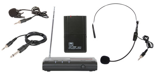 Galaxy Audio  VESR/318 Triple Play Guitar/Headset/Lapel VHF Wireless System