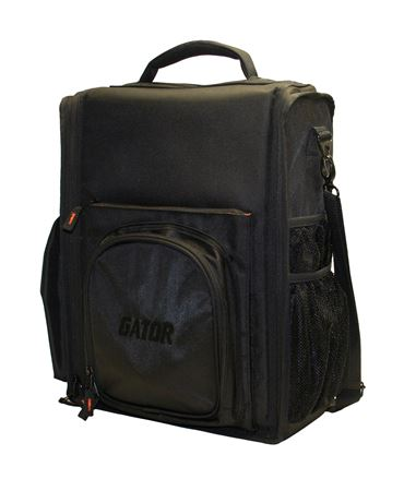 Gator GCLUBCDMX12 Large CD Player/Mixer DJ Bag