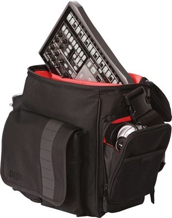 Gator GCLUBDJ BAG DJ Bag for 35 LP's and Serato Style Interface