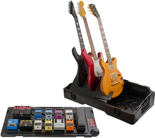 Gator G-GIGBOX2 Pedalboard Case with Built-in Guitar Stand