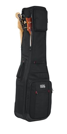 Gator GPGBASS2X ProGo Deluxe Bass Guitar Gigbag for 2 Bass Guitars