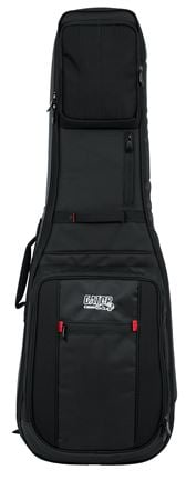 Gator GPGELEC2X ProGo Deluxe Electric Guitar Gigbag for 2 Electric Guitars