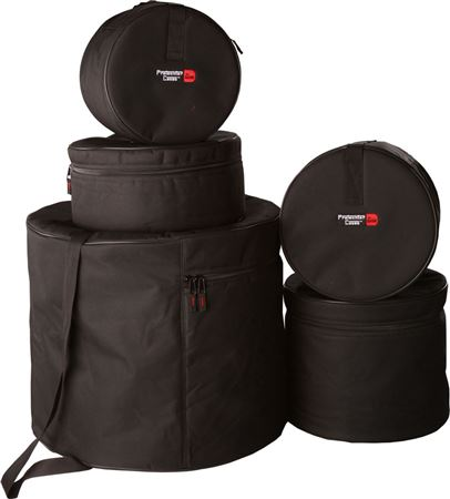 "Gator GPSTANDARD100 Protechtor 5Piece Padded Drum Bag Set 22""x18"" 12""x10"" 13""x11"" 16""x16"" 14""x5.5"""