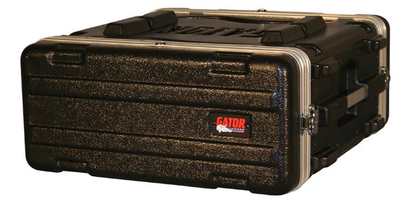 "Gator GR4L Deluxe 19"" Rack Case 4Sp 4Space 4U"