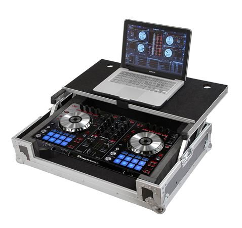 Gator GTOURDSPDDJSR Road Case for Pioneer DDJ-SR With Sliding Platform
