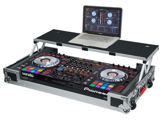 Gator GTOURDSPDDJSZ Road Case for Pioneer DDJ-SZ With Sliding Platform