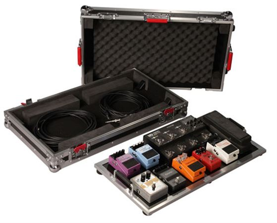 Gator GTOUR PEDALBOARD-LGW Large Pedal Board with Wheels