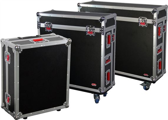 Gator GTOUR ATA Wood Flight Cases for Soundcraft Si-Expression Mixers