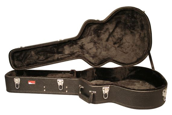 Gator GWJUMBO Deluxe Laminated Wood Case for Jumbo Acoustic Guitars