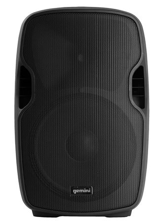 Gemini AS-12BLU 12 Inch Powered Loudspeaker with Bluetooth