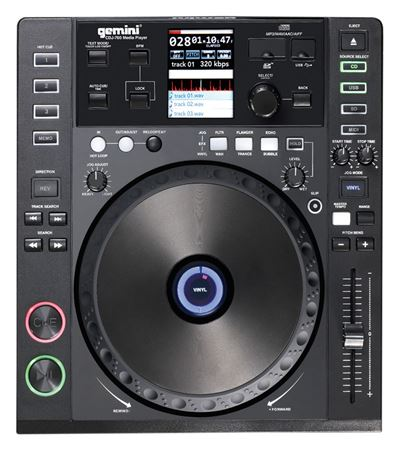 Gemini CDJ700 DJ Media CD Player