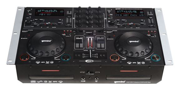 Gemini CDMP6000 Dual CD/MP3/USB DJ System