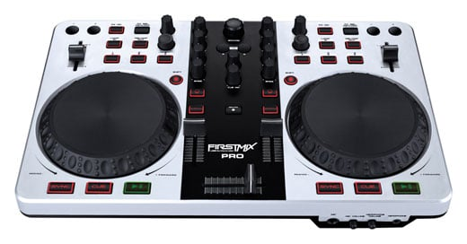 Gemini FirstMix PRO USB DJ Controller with Soundcard