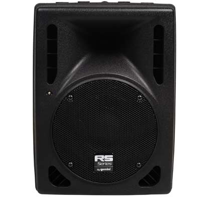 Gemini RS408 Powered PA Speaker