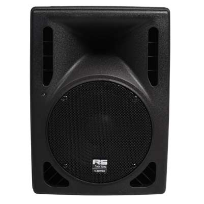 Gemini RS410 Powered PA Speaker