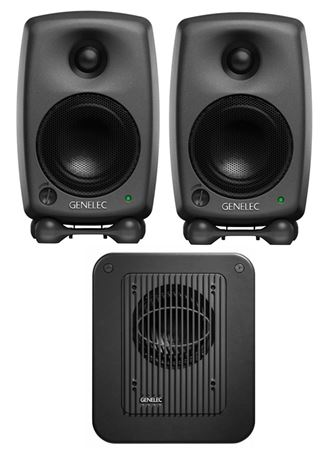 Genelec 8020 LSE StereoPak 8020C Monitor Pair With 7040A Subwoofer