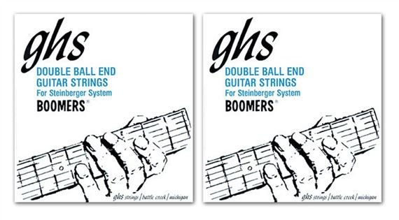 GHS Double Ball End Boomers Electric Guitar Strings