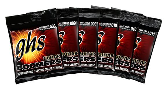 GHS Boomers 6 String Electric Guitar Strings