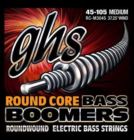 GHS Round Core Bass Boomers Strings