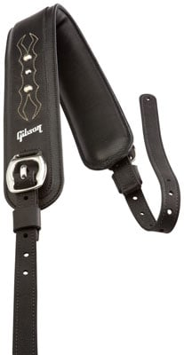 Gibson Edge Leather Comfort Guitar Strap