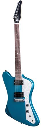 Gibson 2017 Exclusive Run Firebird Zero Faded Pelham Blue with Gig Bag