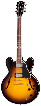 Gibson Memphis ES335 DOT Plain Gloss Top with Case