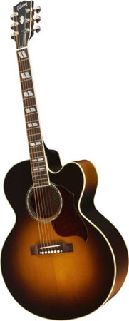 Gibson J185 EC Acoustic Electric Guitar with Case
