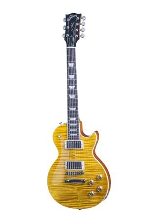 Gibson Limited Edition Les Paul Standard 7 String Trans Amber w/Case