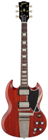 Gibson Custom SG Standard Reissue VOS Maestro Electric Guitar wCase