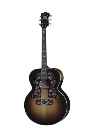 Gibson SJ200 Bob Dylan Player's Edition A/E Guitar with Case
