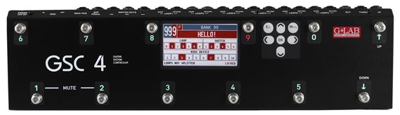 G Lab GSC 4 Guitar Effect MIDI and Amplifier Switching System