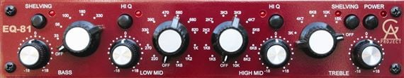 Golden Age Project EQ81 Neve-Style Equalizer