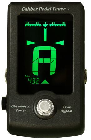 GoGo Tuners GCALIBERPED Big Screen Pedal Tuner with Calibration