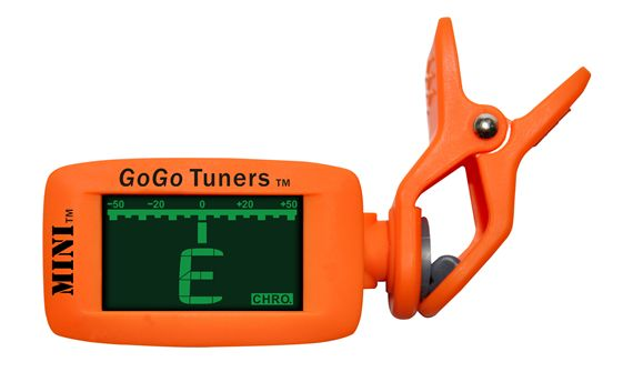 GoGo Tuners MINI Chromatic Clip-On Guitar Tuner
