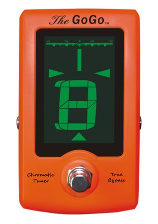 GoGo Tuners The GoGo Chromatic Pedal Guitar Tuner
