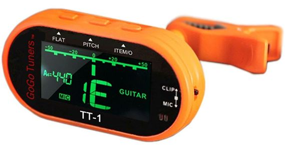 GoGo Tuners TT1A Multi-Instrument Chromatic Clip-On Tuner