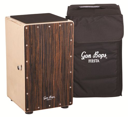 Gon Bops Fiesta Cajon Walnut Snare with Bag