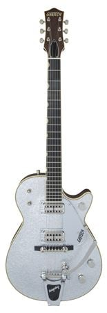 Gretsch G6129T59 Vintage Select 59 Silver Jet with Case
