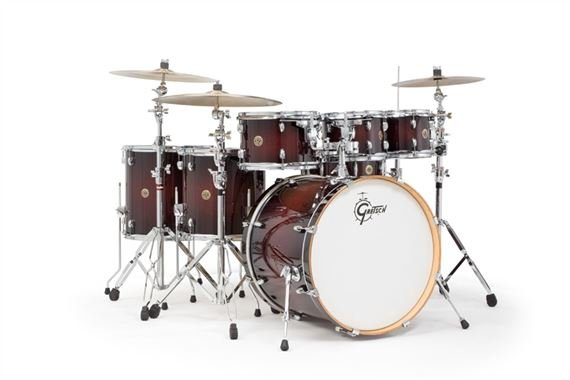 Gretsch Catalina Maple 6 Piece Shell Kit Drum Set Free 8 Inch Tom