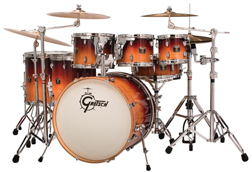 Gretsch Catalina Maple 6 Piece Shell Kit Drum Set