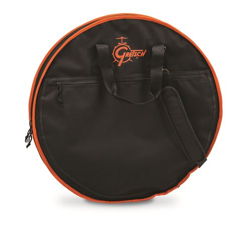Gretsch SCB Standard Cymbal Bag 24 In Black/Orange