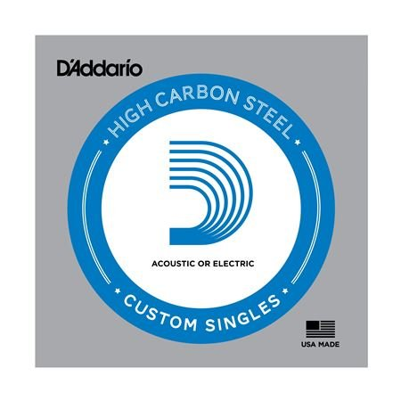 DAddario Plain Steel Single Acoustic or Electric Guitar String