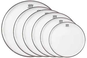 Remo Clear Ambassador Drum Heads