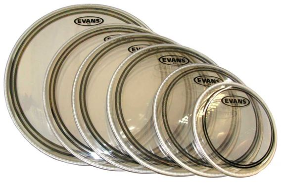 Evans EC2 Edge Control Drum Heads
