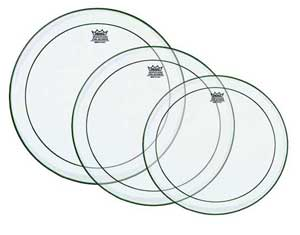 Remo Clear Pinstripe Drum Heads
