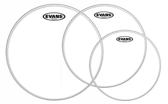 Evans Hydraulic Glass Drum Heads
