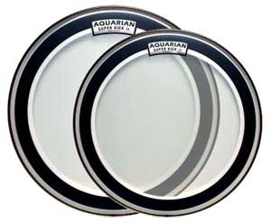 Aquarian Super Kick Bass Drum Heads